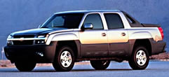 2002 Chevy Avalanche  Specs Data