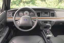 Ford Crown Victoria Dashboard