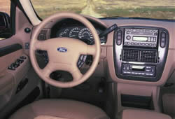 Ford Explorer - dashboard layout