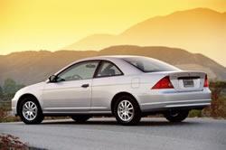 2002 Honda Civic LX Coupe HX