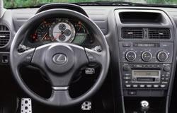 2002 Lexus IS 300 Dashboard