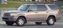 2002 toyota sequoia specs data new cars com