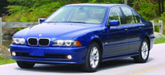 2003 BMW 525i Sedan  MSRP Prices Optional Packages