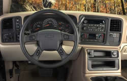 Chevrolet Silverado Dashboard Layout