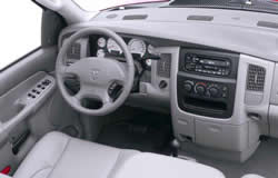 2003 Dodge Ram 3500 Dashboard Layout