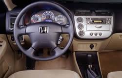 Honda Civic Hybrid Dashboard Layout