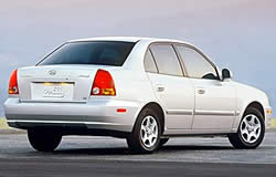 2003 Hyundai Accent 4 Door