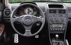 IS 300 SportCross   Dashboard Layout