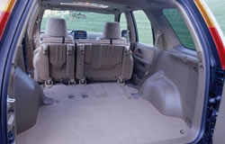 Honda CR V With Rear Seats Folded Creates 72.0 Cubic Feet Of Cargo Space
