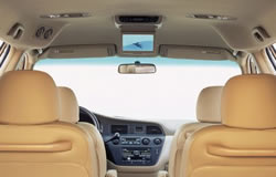 Honda Odyssey EX L Interior With Available DVD Entertainment System