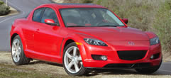 mazda rx 8 specifications 2004
