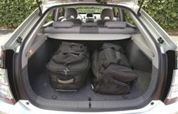 Toyota Prius Storage Room Seats Up
