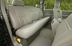 2005 Chevy Silverado Hybrid Interior