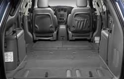 2005 dodge caravan interior
