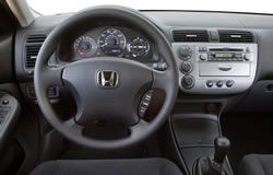 Honda Civic Hybrid Dashboard