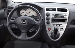 2005 Honda Civic Si Dashboard