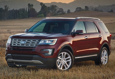 2016 Ford Explorer Specs Engine Data Curb Weight And