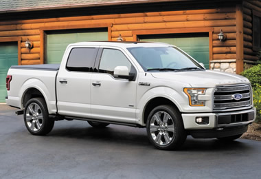 2016 Ford F-150 - Specs, Engine Data, Weights and Trailer