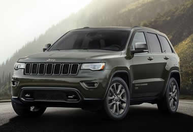 Jeep grand cherokee 2016 length