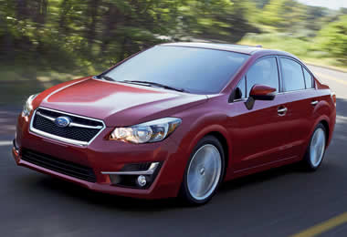 Subaru impreza specs 2016